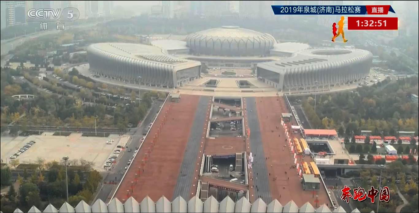 广州竞博体育官网下载品牌通过CCTV5直播的济南市泉城马拉松项目向全国市民展示